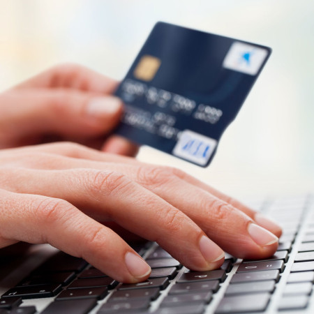 Credit card - Online shopping