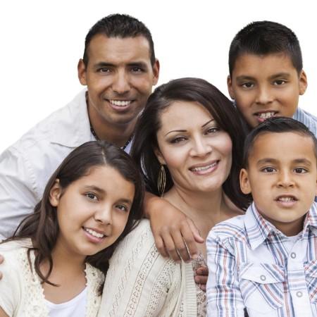 Hispanic family - Familia Hispana